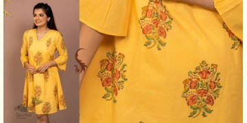 उत्सव  ✻ Block Printed Cotton Dress ✻ 30